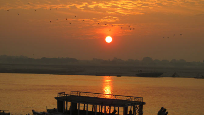 Sunrise at Varanasi