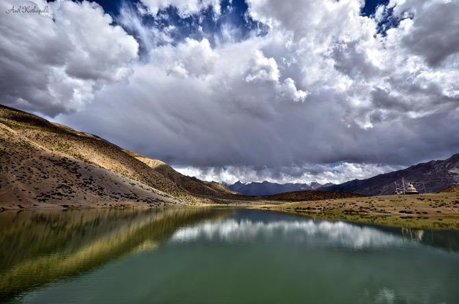 Dhankar Lake, Spiti Valley, Himachal Pradesh