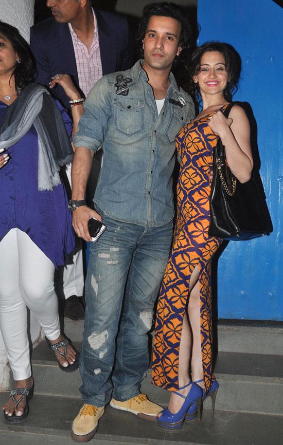 Aamir Ali and Sanjeeda Sheikh