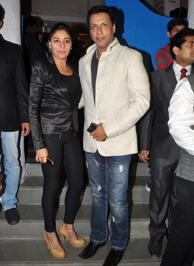 Renu and Madhur Bhandarkar