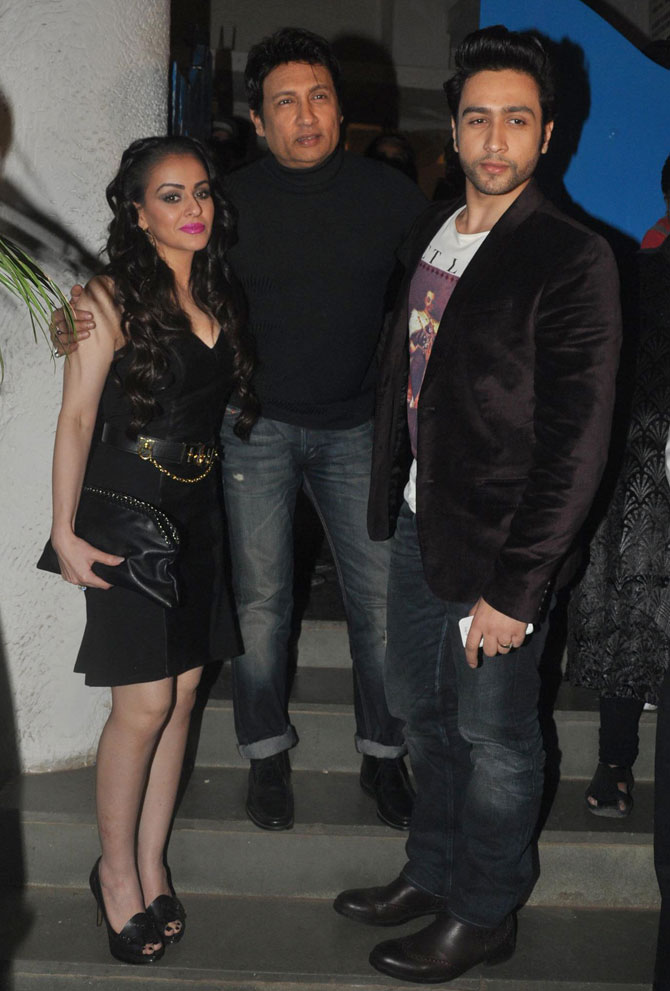 Shekhar and Adhyayan Suman with
