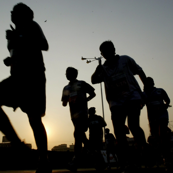 Marathon Diary: The blisters, the cold, the agony, the ecstasy