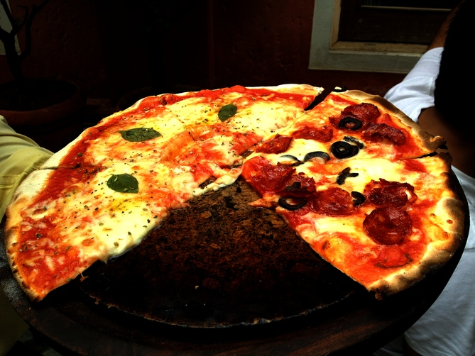 Three words that best describe Tonino: Wood-fired pizza!