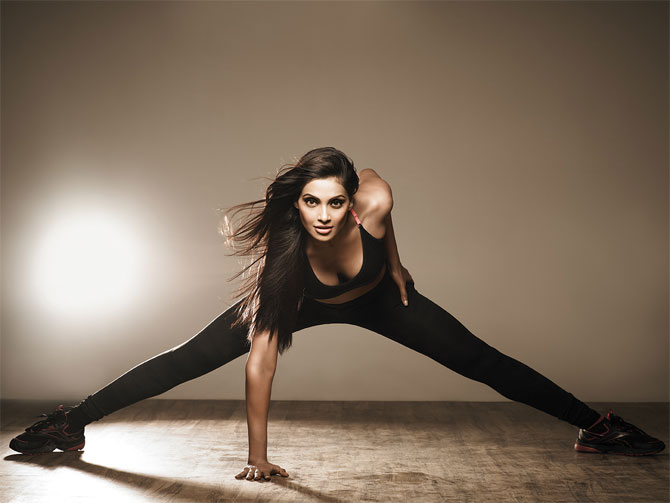 Bipasha launches fitness video