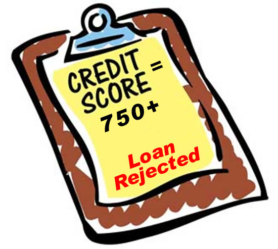 6 reasons your loan got rejected despite a 750+ credit score