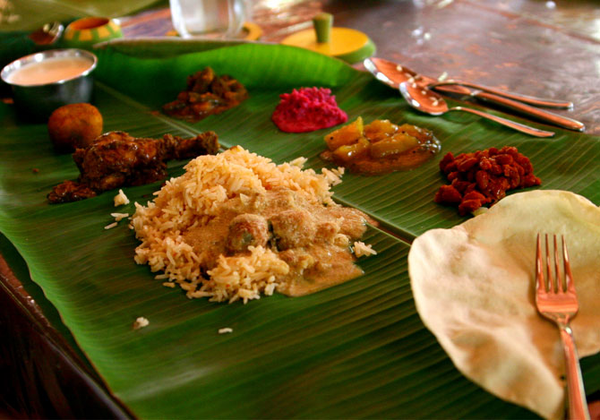 Non vegetarian Chettinadu lunch in Chennai