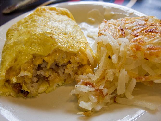 Rice Omelet