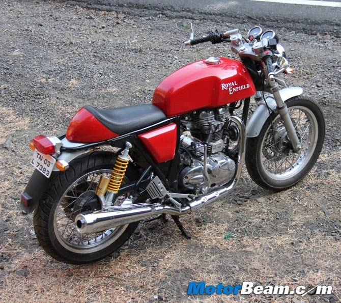 Royal Enfield Continental GT: Go retro!