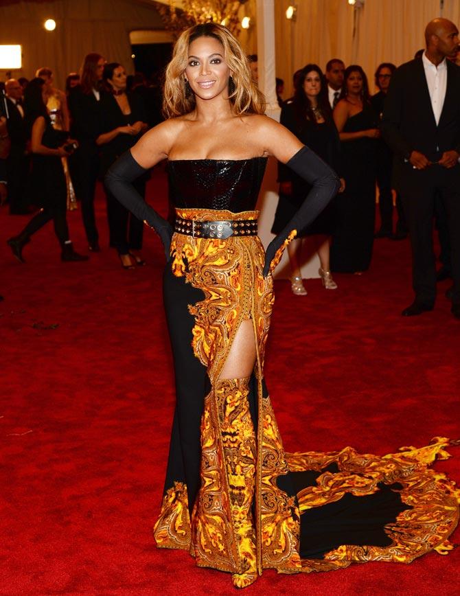 Beyonce at the Met gala