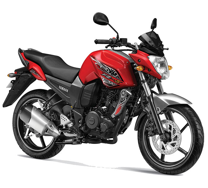 What's so uncommon about this Yamaha FZ?