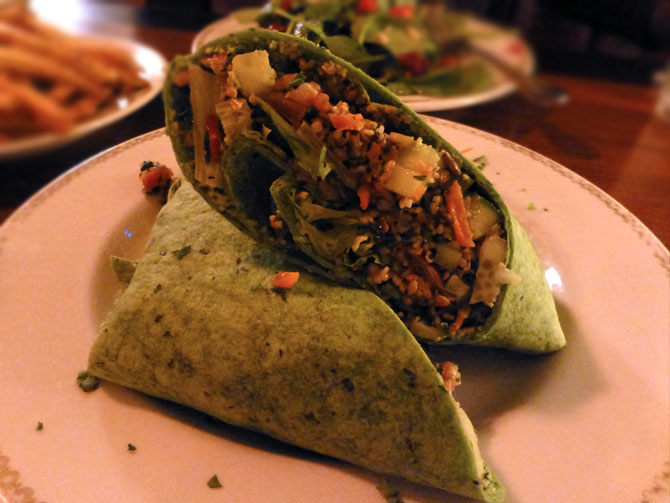 Vegetable Wrap