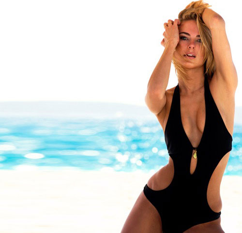 Ahoy! Kimberly Garner wants you to see her beachwear line