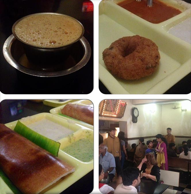 One of the best places to catch breakfast is the iconic Central Tiffin Room in Malleshwara.