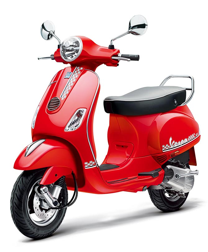 This Vespa is designed exclusively for you! - Rediff Getahead