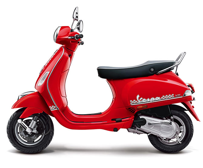 This Vespa is designed exclusively for you!