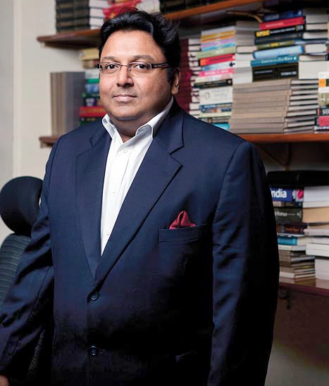 Ashwin Sanghi, author of Private India