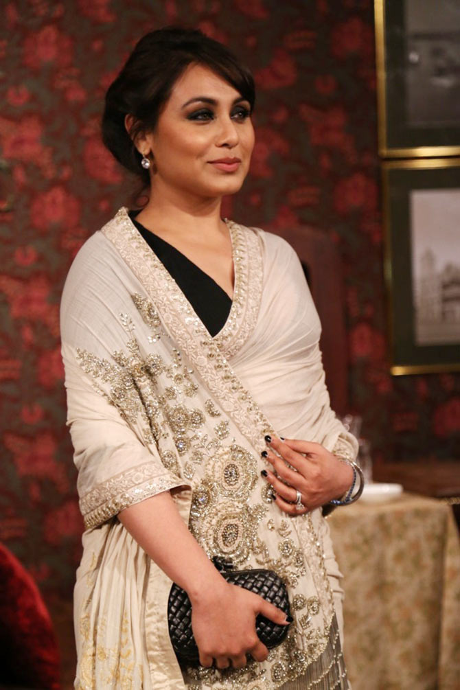 Rani Mukerji at the India Couture Week
