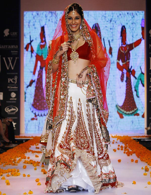 Pooja Chopra at the India International Jewellery Week
