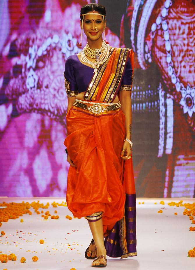 Prachi Mishra at the India International Jewellery Week