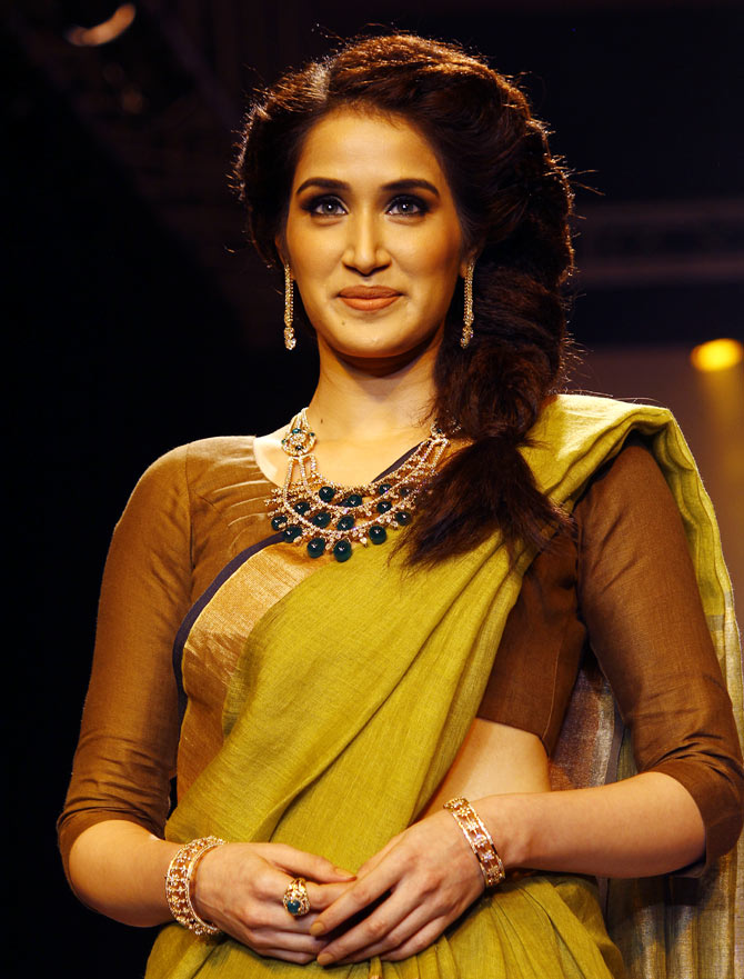 Sagarika Ghatge at the India International Jewellery Week