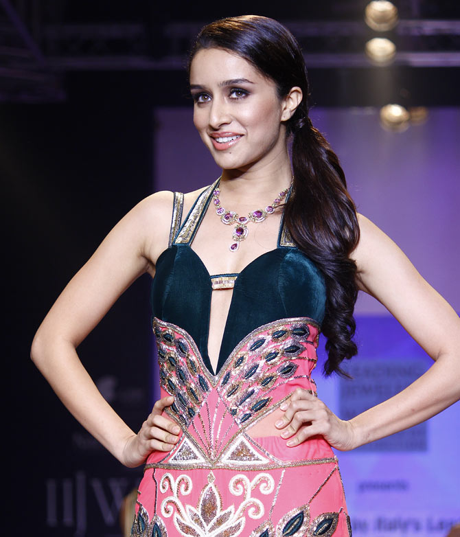 Shraddha Kapoor at the India International Jewellery Week