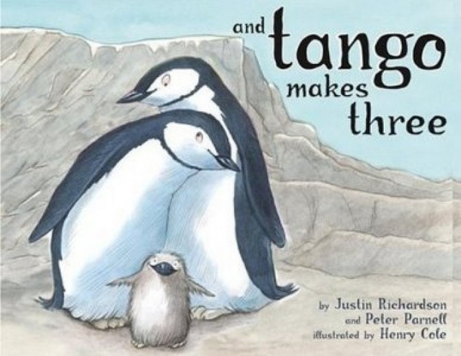 And Tango Makes Three is one of the three other books that has been banned by Singapore's National Library Board.