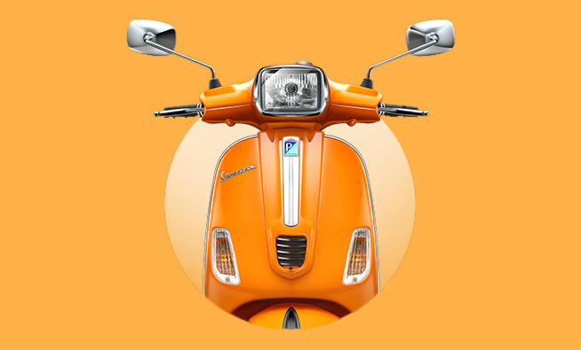 Hello Sunshine! This Vespa is for Metrosexuals