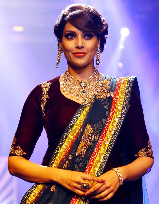 Bipasha Basu at the India International Jewellery Week