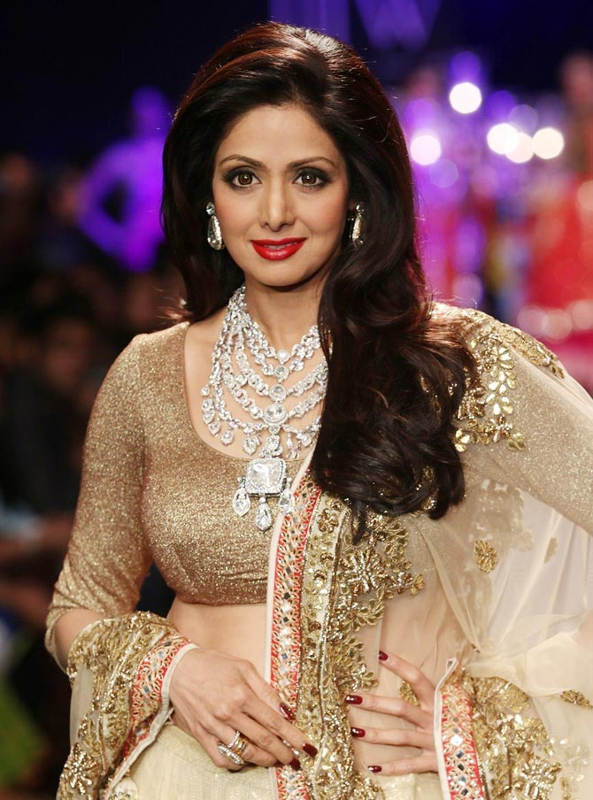Sridevi at India International Jewellery Week