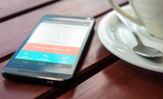 New smartphone app to track migraines