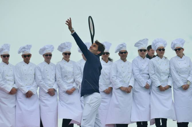 Game, Set, Match: When I met Roger Federer