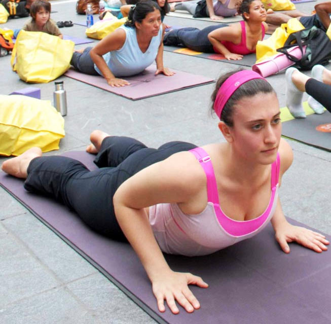 Yoga helps in dealing with social anxiety disorders