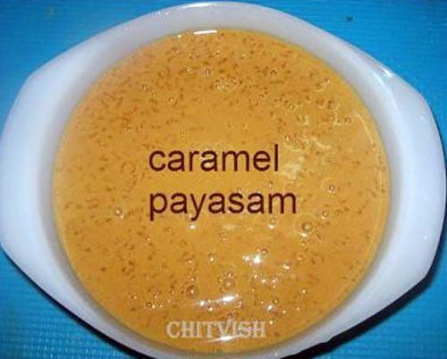 Caramel Payasam