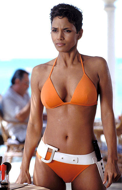 Halle Berru in a scene from Die Another Day