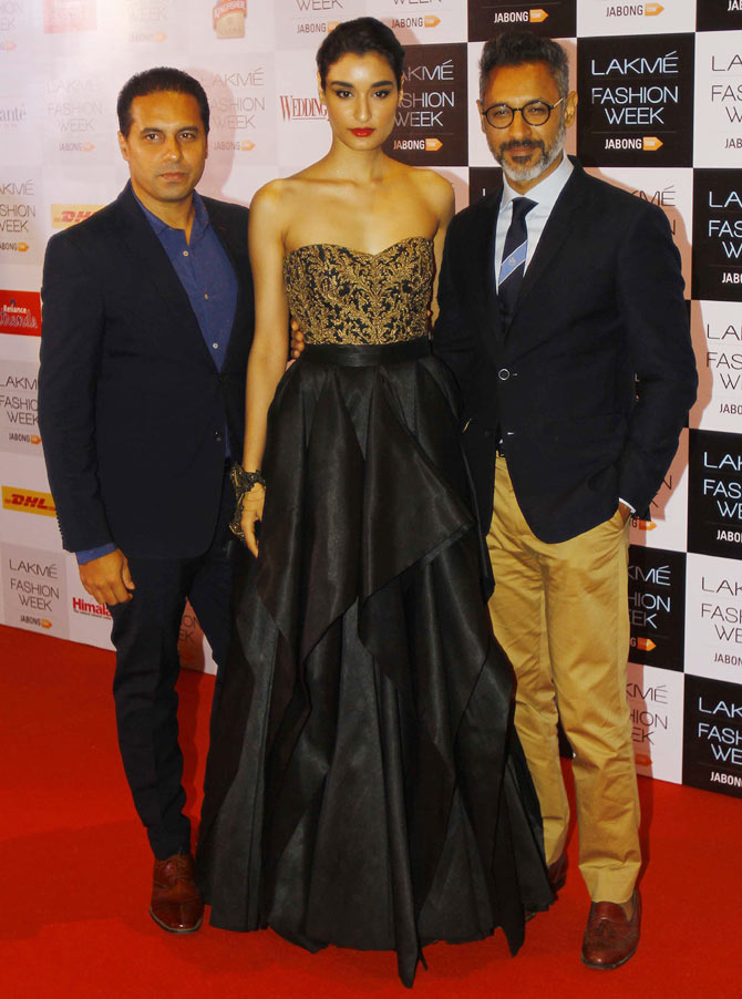 Shantanu and Nikhil with Kanistha Dhankar