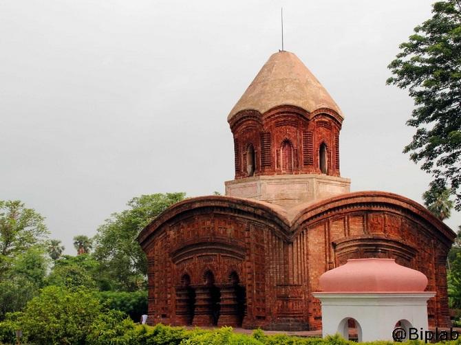 Hanseswari temple, Banshberia, West Bengal