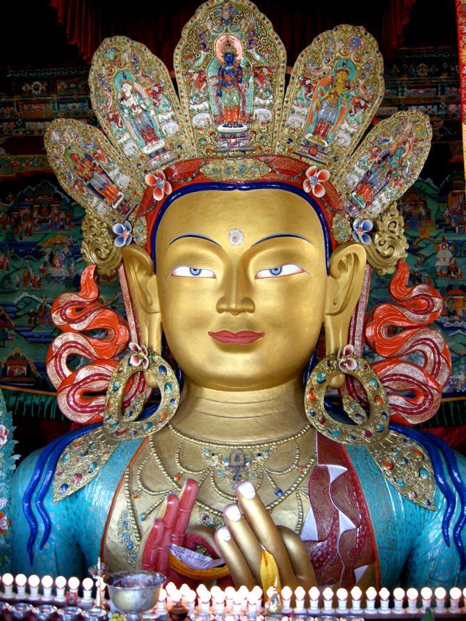 Thiksey Monastery, Ladakh, Jammu and Kashmir