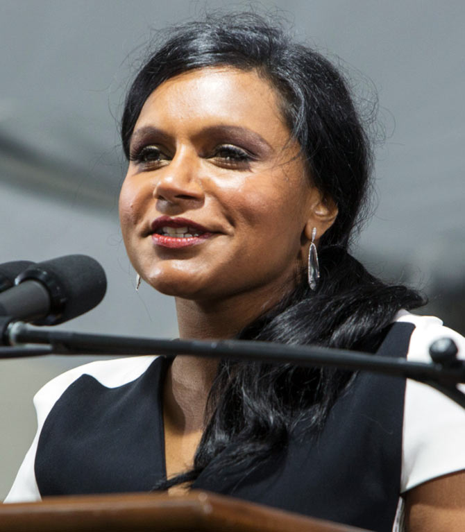 Mindy Kaling addresses Harvard Law graduates on their graduation day
