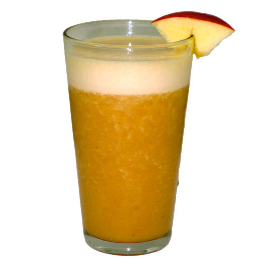 Apple and banana mocktail