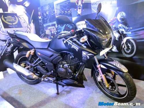 PICS: The all new TVS Apache RTR 180