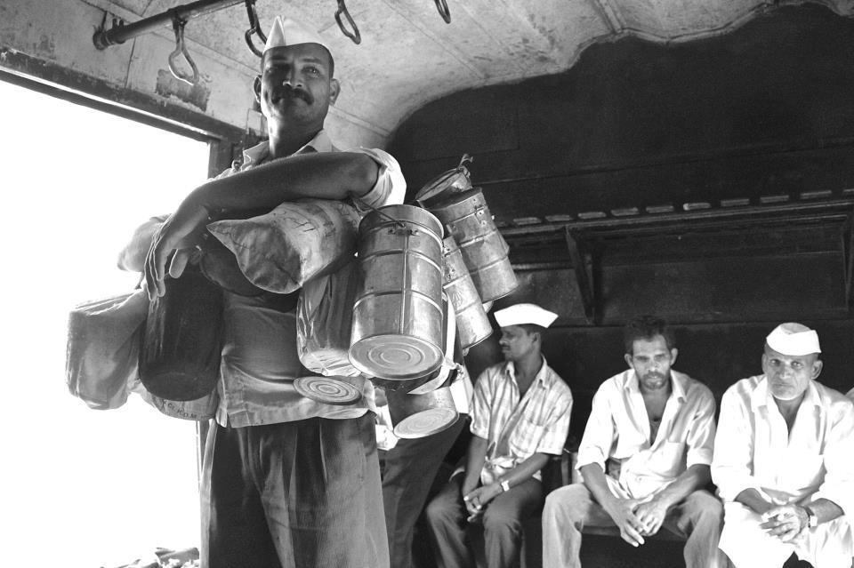 The Mumbai dabbawala