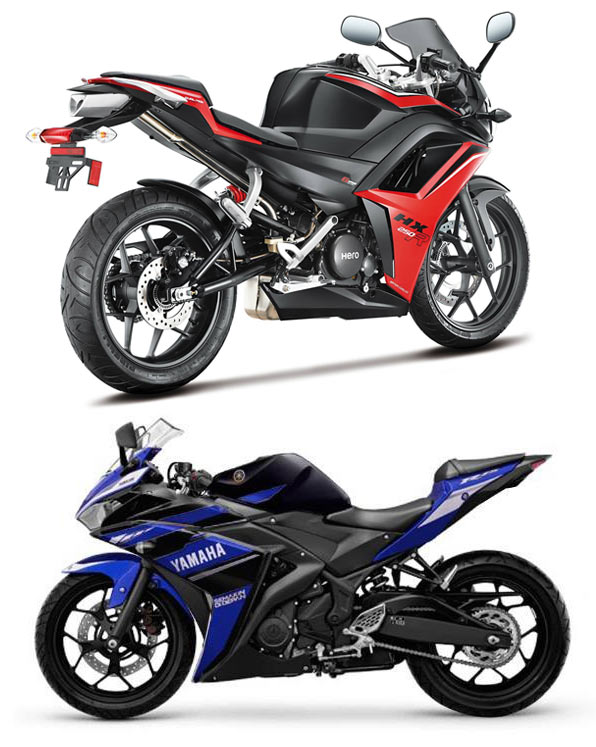 Bike wars: Hero takes on Yamaha!