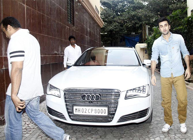 Ranbir Kapoor drove past you? Eh no big deal! :-P
