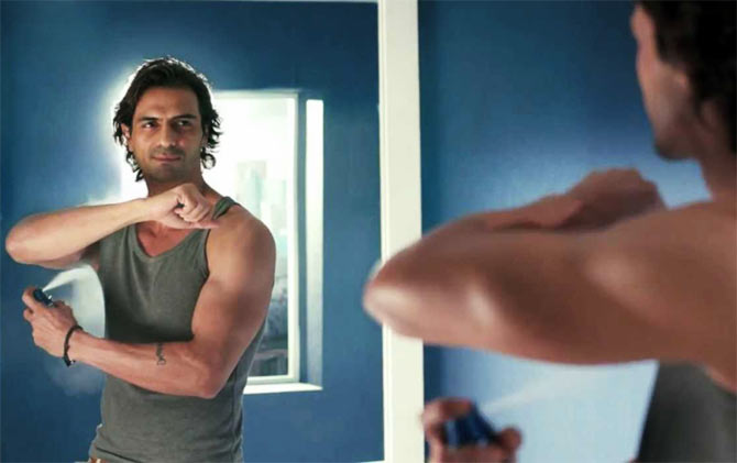 Even Arjun Rampal uses a deodorant. Don't see why you shouldn't