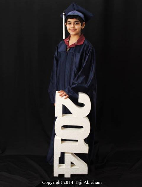 Indian-born Tanishq Abraham is the youngest graduate in the US.