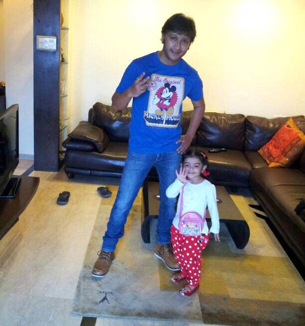 Arjun Punj with Meher