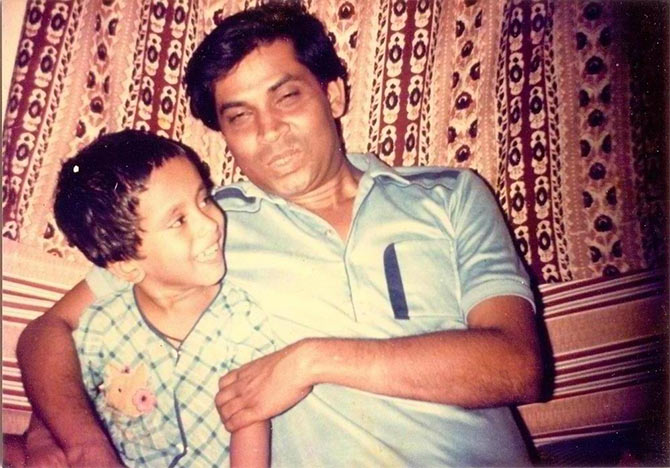 #Dad-n-me: 'The memories of my father are still fresh in my mind'