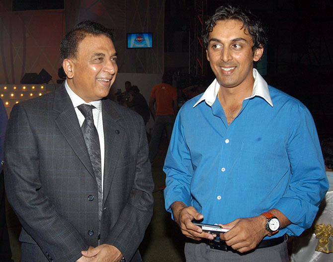 Sunil and Rohan Gawaskar