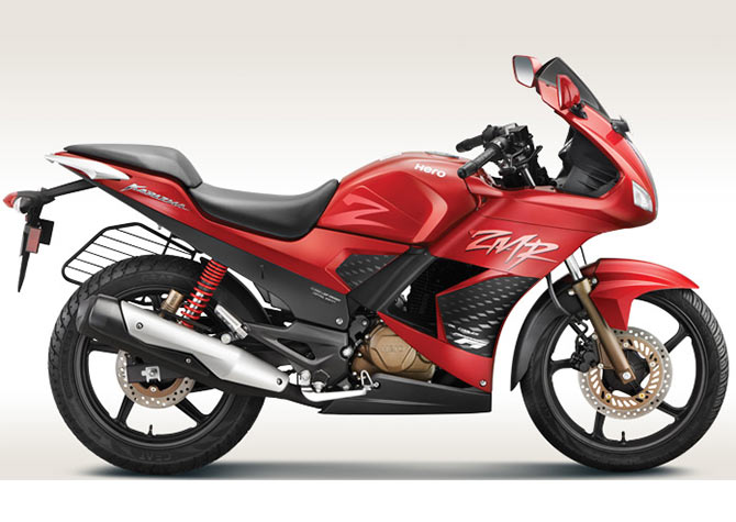 IN PICS: The all-new 2014 Hero Karizma bikes