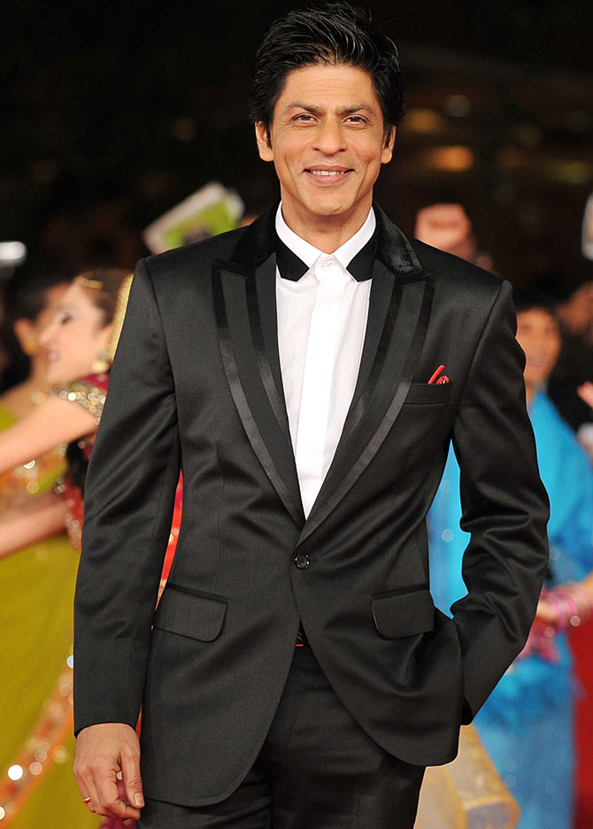 Actor Shah Rukh Khan has been voted India's most popular father figure according to a Shaadi.com survey.